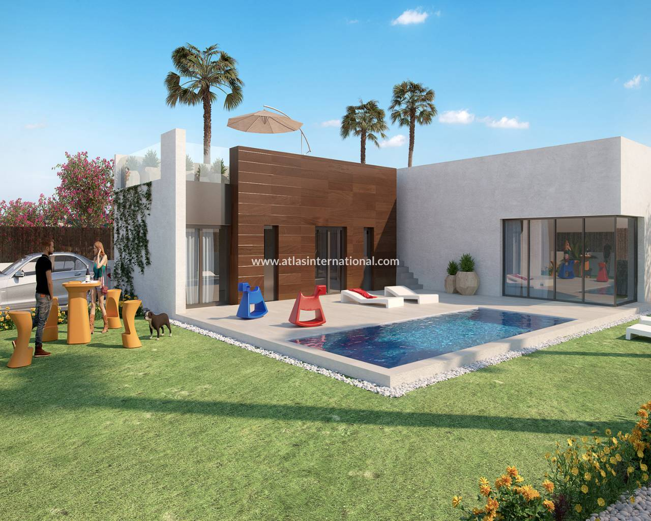 Detached Villa - Nouvelle construction - Algorfa - Algorfa