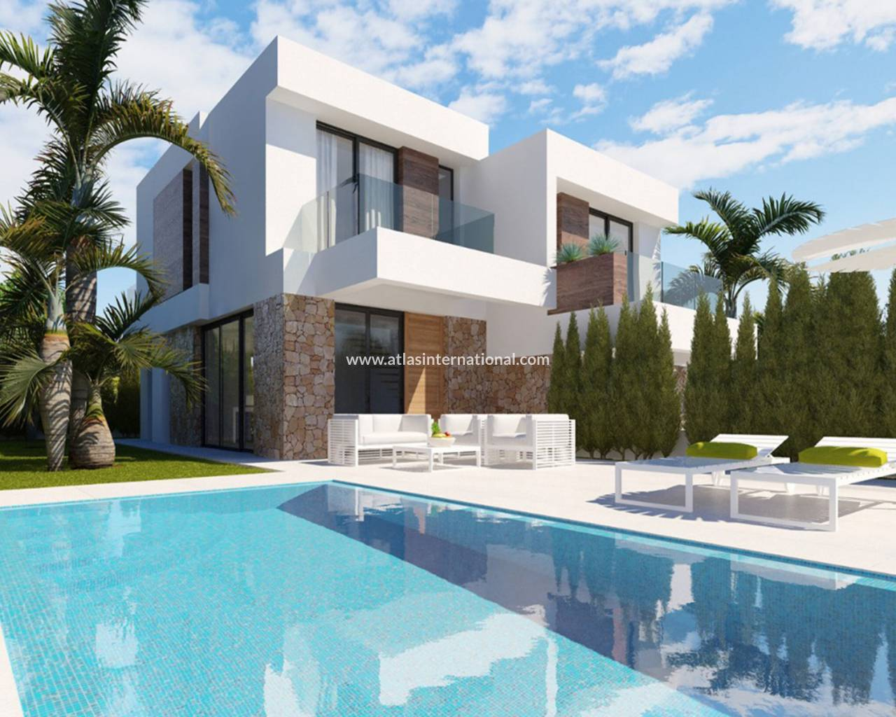 Semi-Detached Villa - New Build - Finestrat - Finestrat