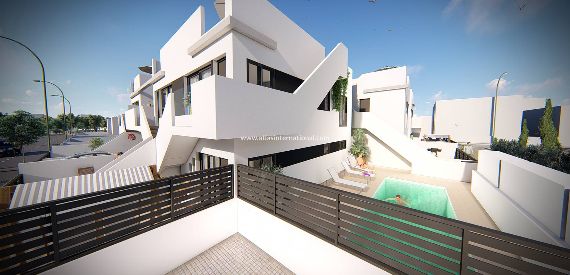 New Build - Duplex - Lo pagan