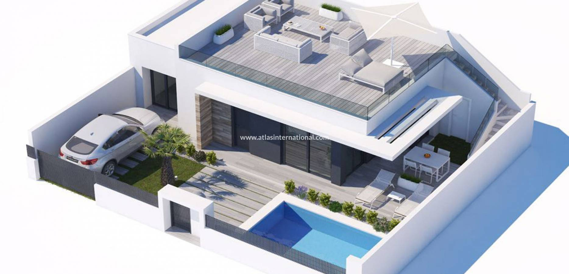 New Build - Semi-Detached Villa - Los montesinos - Vistabella